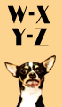 W-Z Girl Dog Names